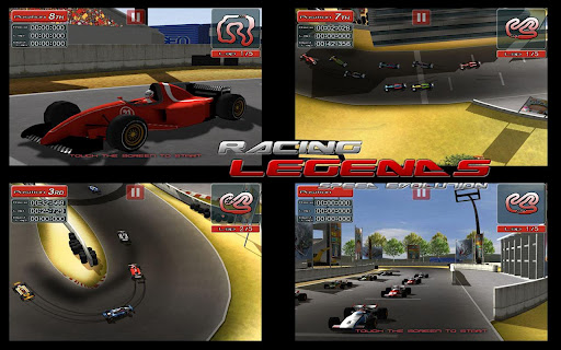 Racing Legends, juego de carreras con coches míticos para Android