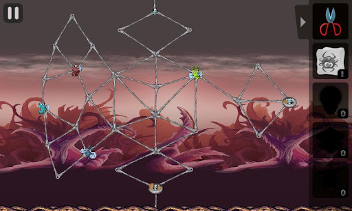 Greedy Spiders 2, juego de habilidad para Android
