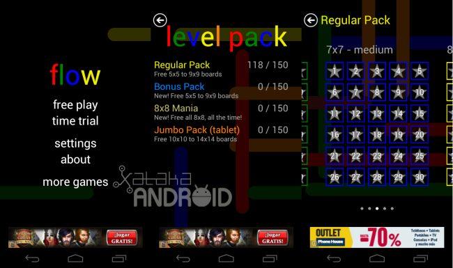 Flow Free, un juego de puzzles para Android realmente adictivo