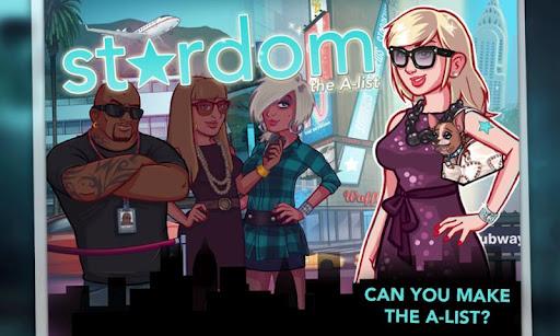 STARDOM: THE A-LIST, un juego de gestión de tiempo para Android