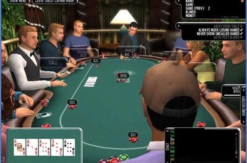 Ricos jugando al blackjack